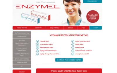 Nový web a eshop společnosti Enzymel