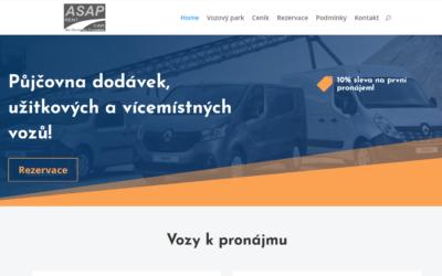 Web pujcovna-dodavek-asap.cz