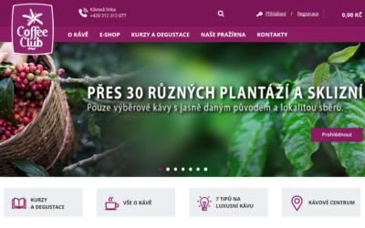 Voňavý e-shop Žijeme-kávou.cz