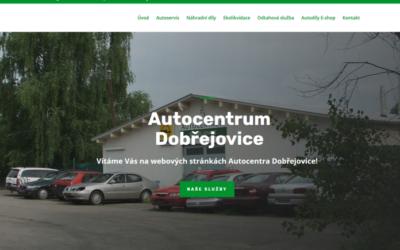 Nový web Autocentrum Dobřejovice + microsites