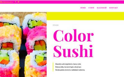 Web Color Sushi