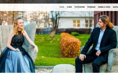 Nový web pro hudební manžele Bragagnolo