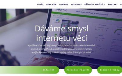 Nový web pro společnost iotor a.s.